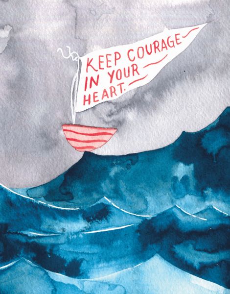 Courage Boat