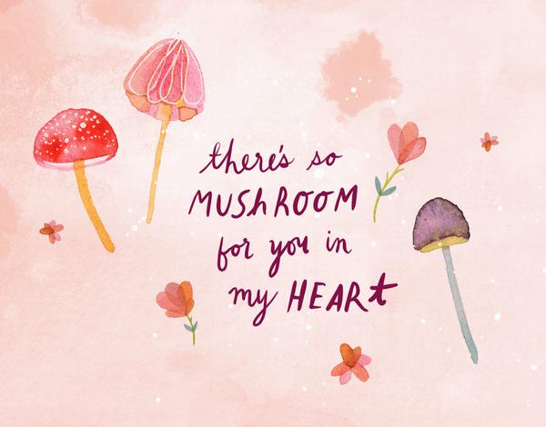 Mushroom Heart