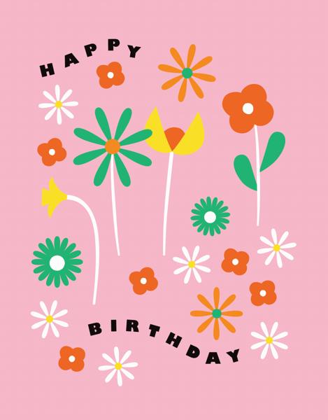 Birthday Fleurs