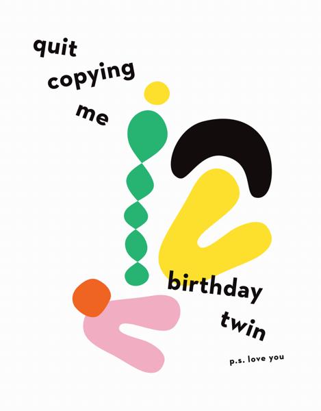 Birthday Twin