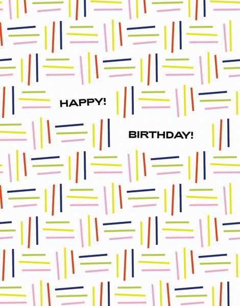 Happy Birthday Lines