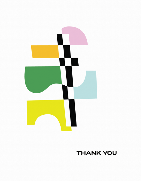 Thank You Shapes