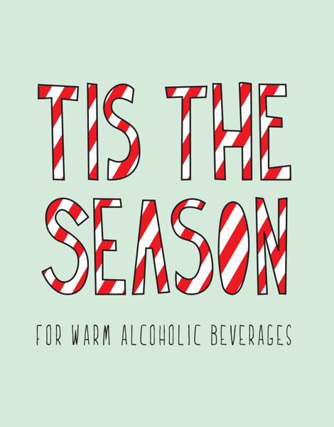 Tis The Season Holiday Card