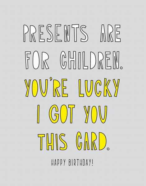 You're Lucky
