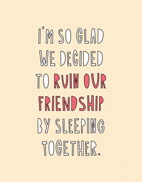 Ruined Friendship