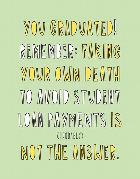 You Graduated