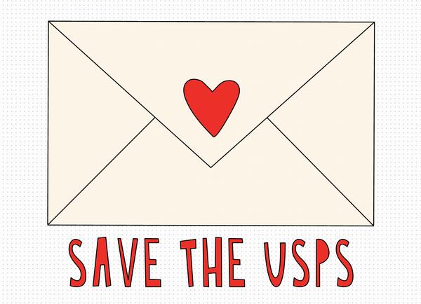 Save The USPS Envelope