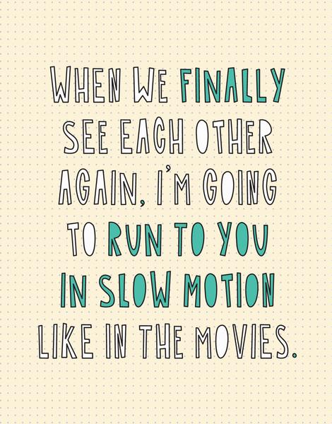 Slow Motion Run