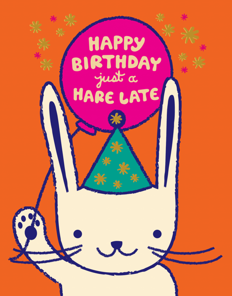 A Hare Late