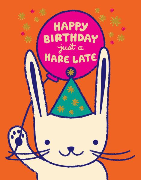 A Hare Late