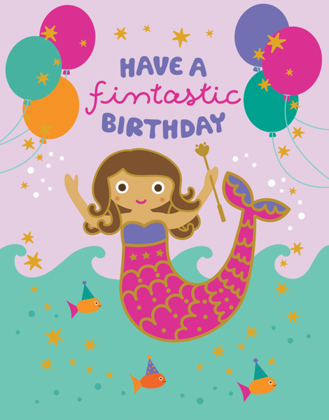 Fintastic Mermaid Birthday