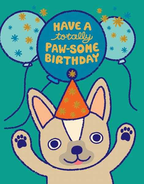 Paw-Some Birthday