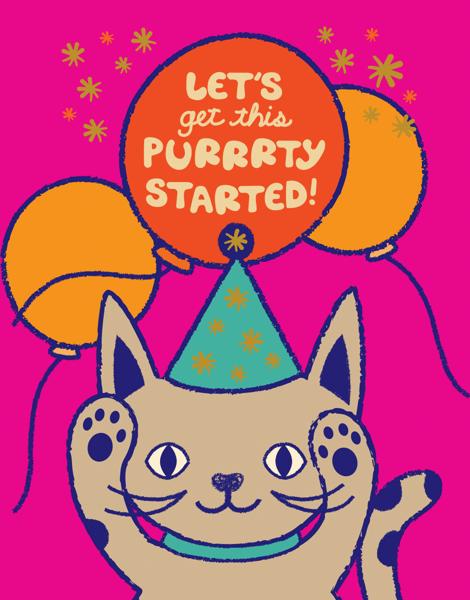 Purrrty Cat