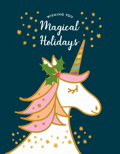 Magical Unicorn Holiday