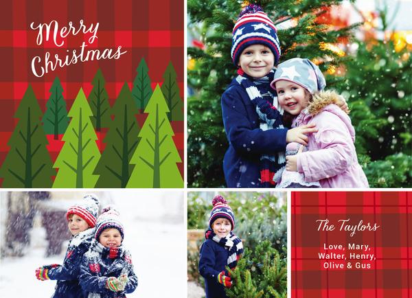 Christmas Tree Plaid