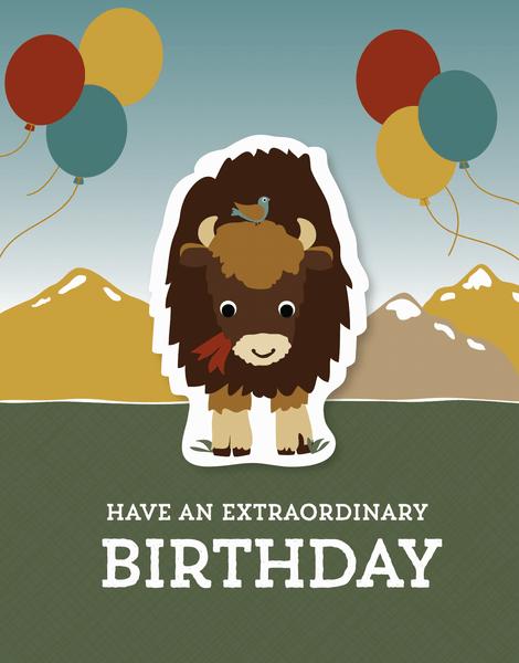 Bison Birthday