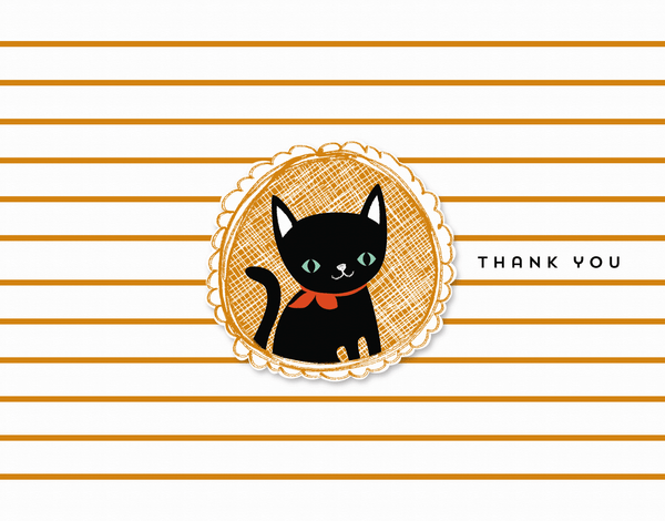 Black Cat Thank You