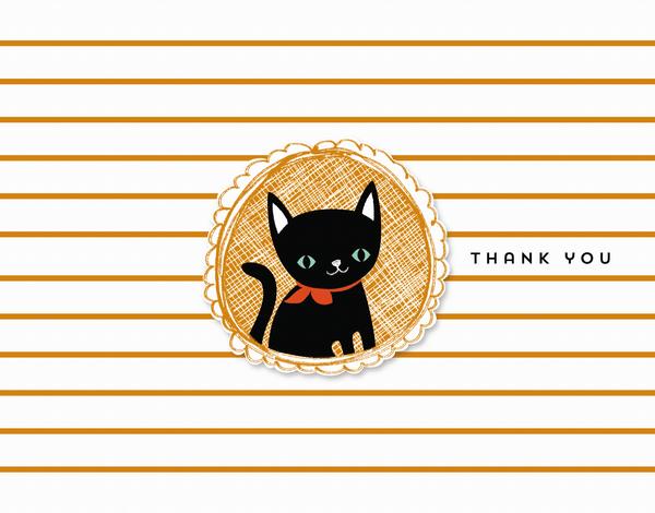 Black Cat Thank You