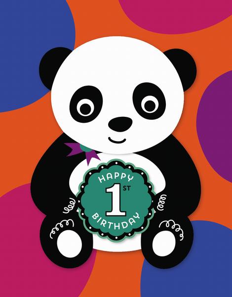 First Birthday Panda