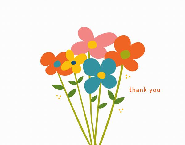 Fresh Flowers Thanks