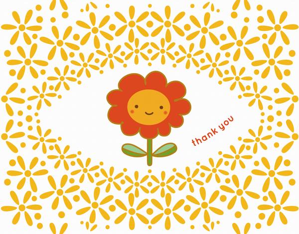 Sunny Blossom Thank You