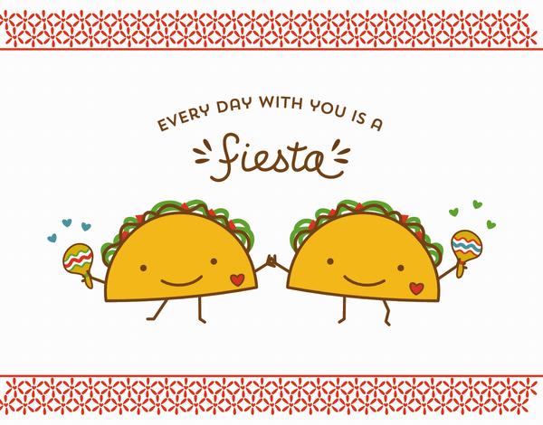 Taco Fiesta Love