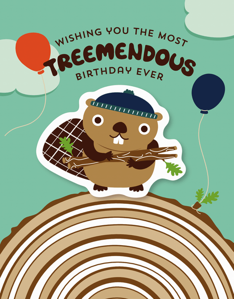 Treemendous Birthday