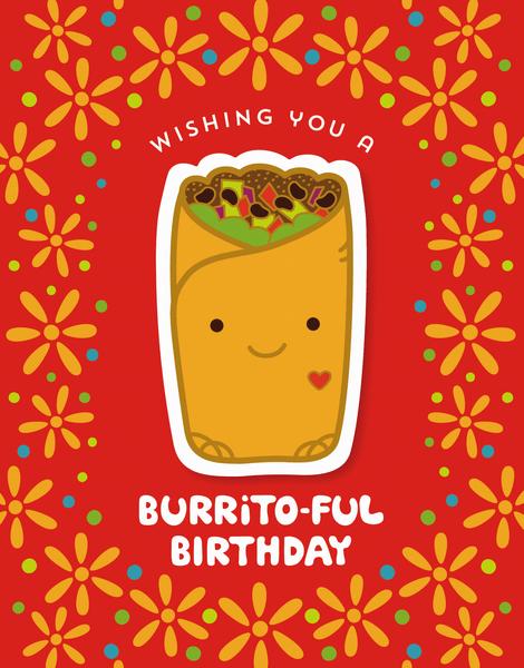 Burritoful Birthday