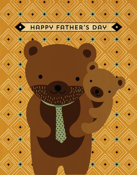 Dad Bear Cub