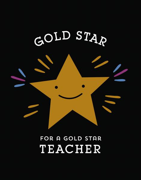 Gold Star Teacher