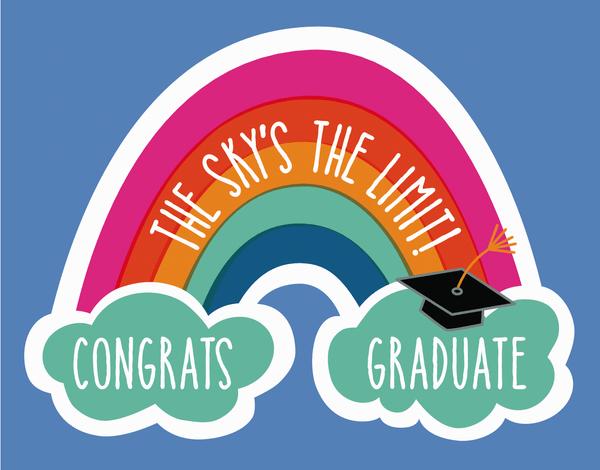 Graduation Rainbow