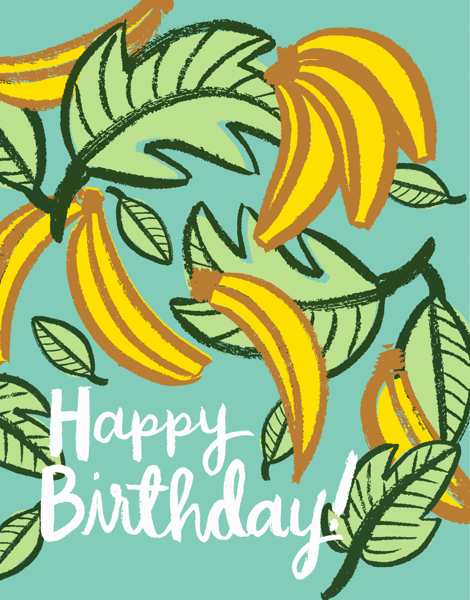 Birthday Bananas