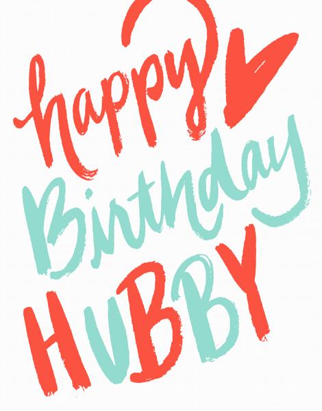 Happy Birthday Hubby