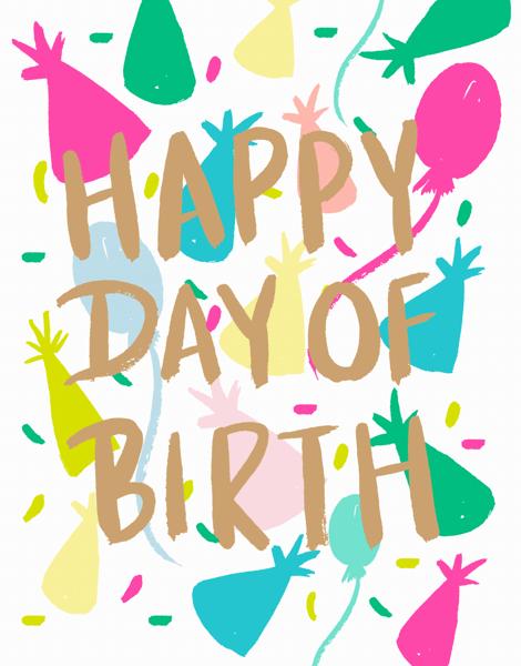 Happy Day Of Birth