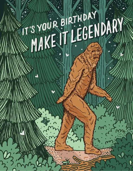 Bigfoot Birthday