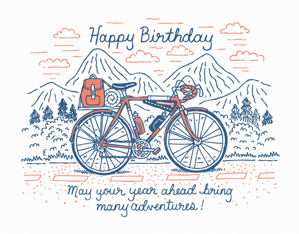 Birthday Bicycle