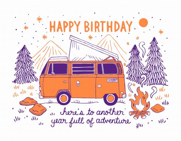 Birthday Camper