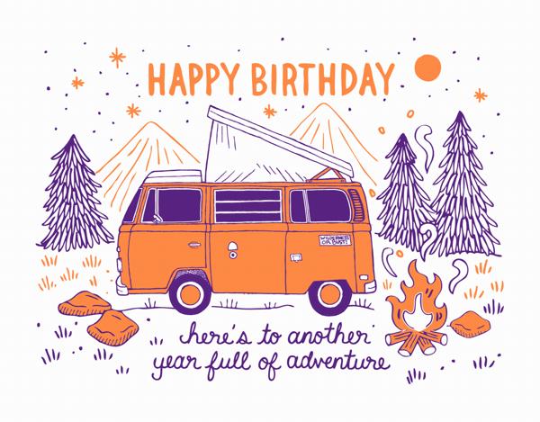 Birthday Camper
