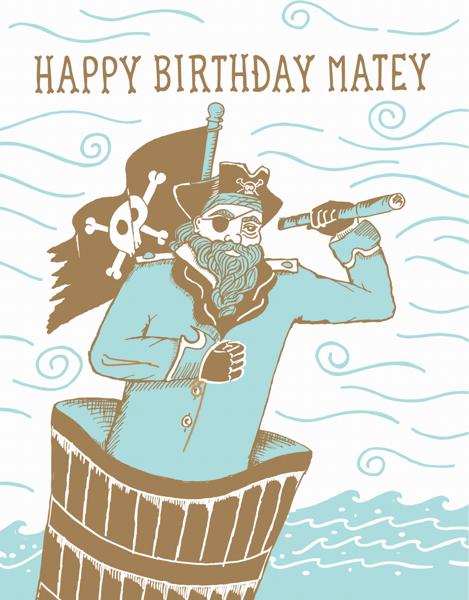 Birthday Matey