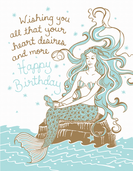 Birthday Mermaid