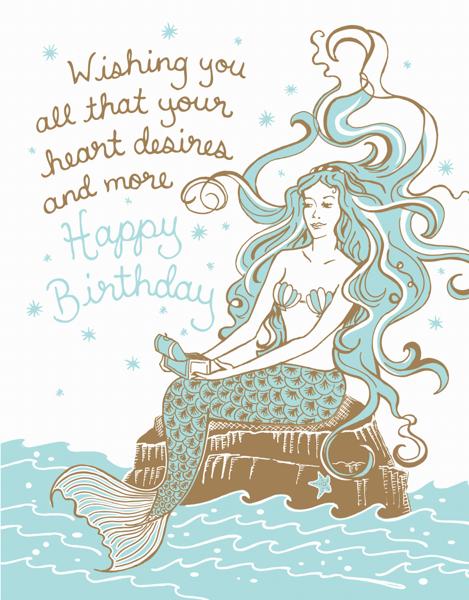 Birthday Mermaid
