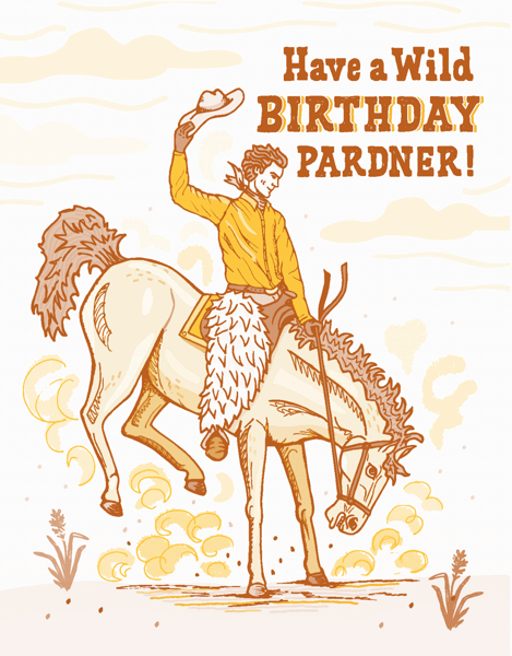 Birthday Pardner