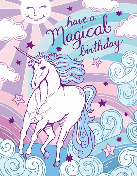 Magical Unicorn Birthday