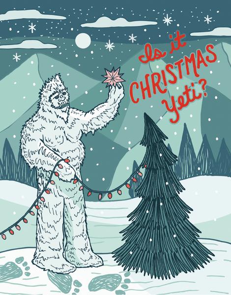 Christmas Yeti