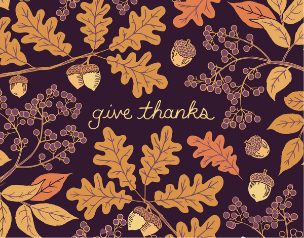 Give Thanks Leaves