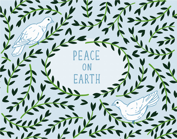 Peace On Earth Doves