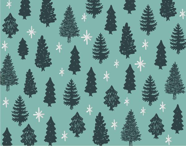 Pine Tree Pattern