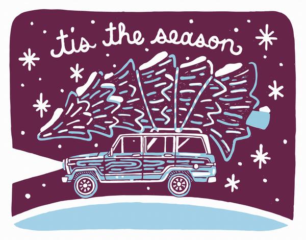 Tis The Season Tree