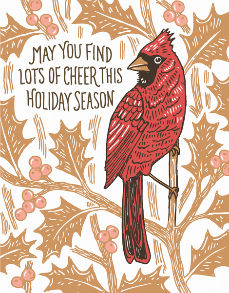 Holiday Cardinal