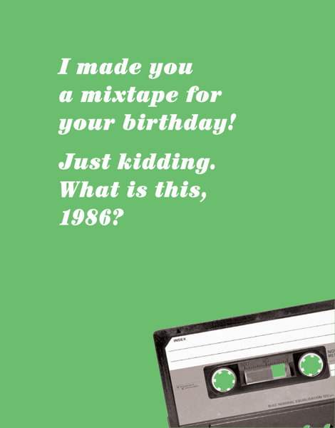 Birthday Mixtape